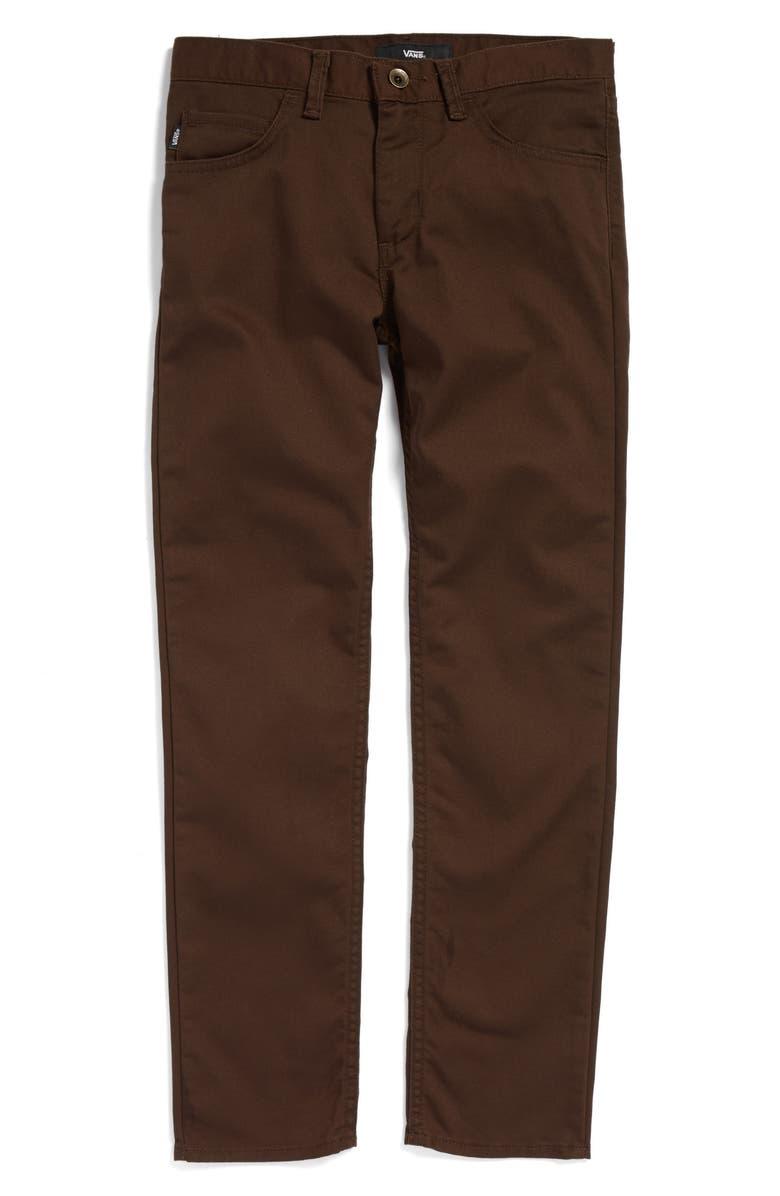 VANS 'V56 Standard AV Covina' Pants, Main, color, 201