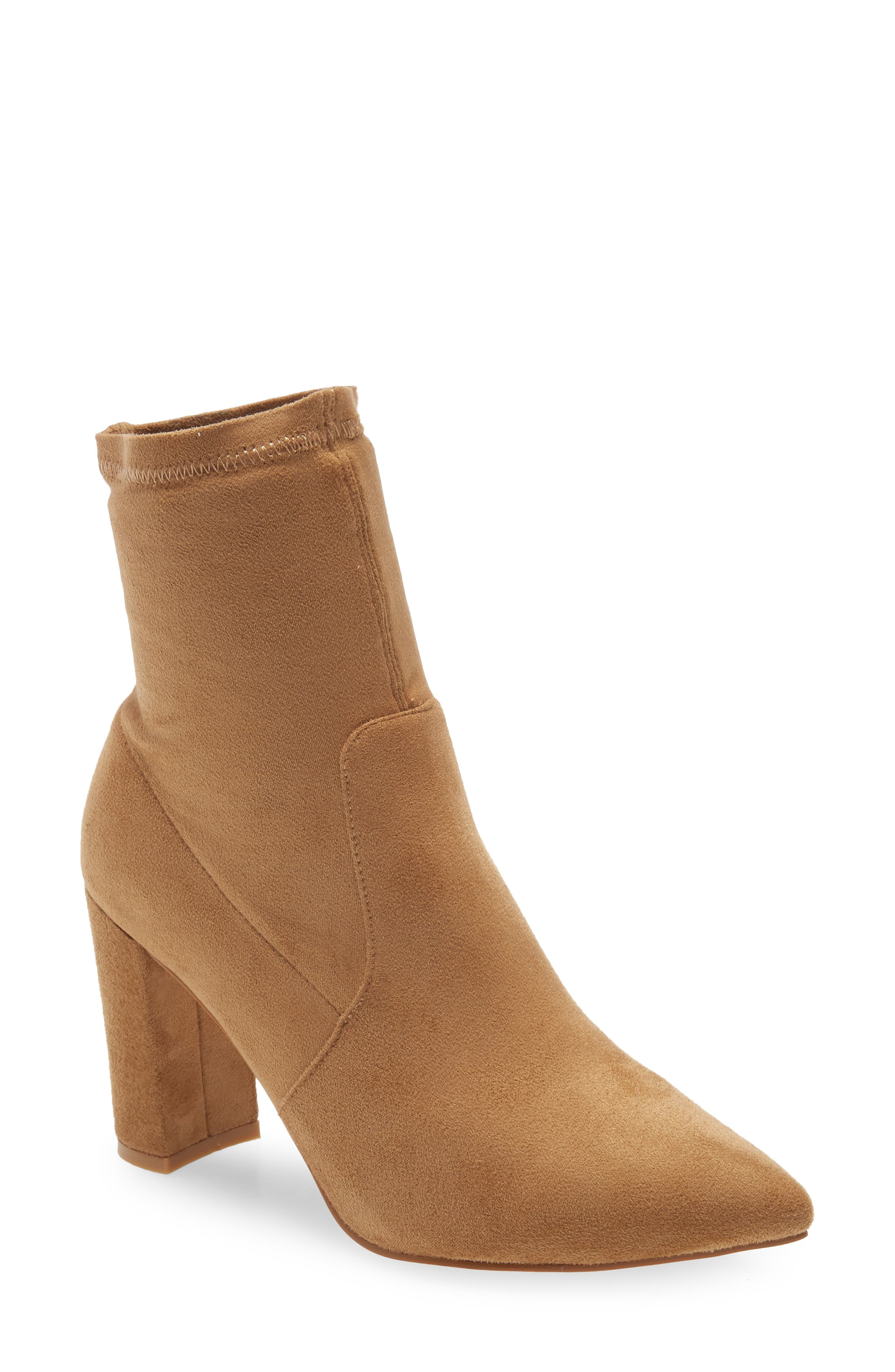 Waverly Faux Suede Bootie