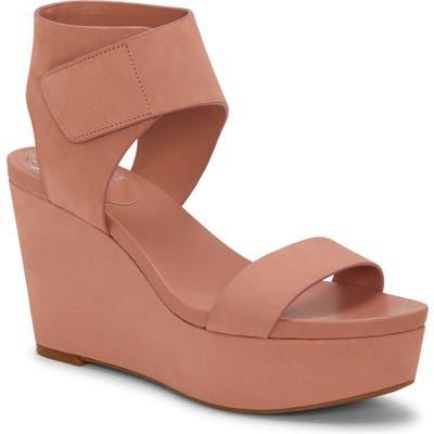 Vince Camuto Velista Platform Wedge Sandal, Pink