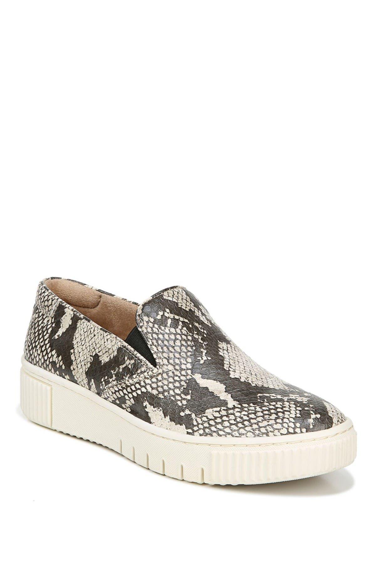Image of SOUL Naturalizer Tia 2 Snakeskin Embossed Platform Slip-On Sneaker