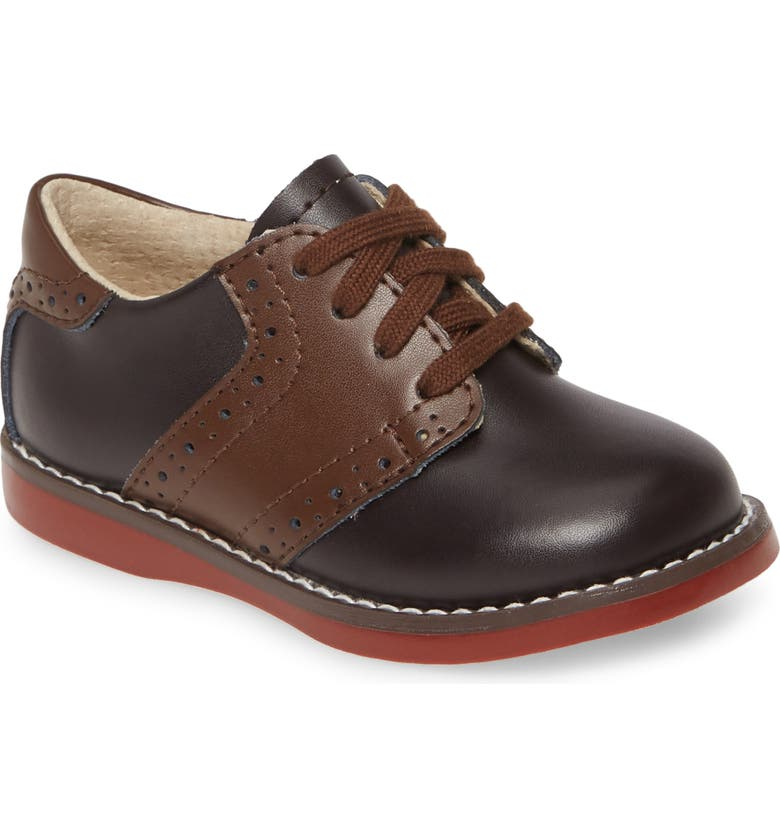 FOOTMATES Connor Oxford, Main, color, BROWN/TAFFY