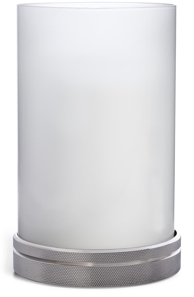 RALPH LAUREN Paxton Hurricane Candleholder, Main, color, SILVER
