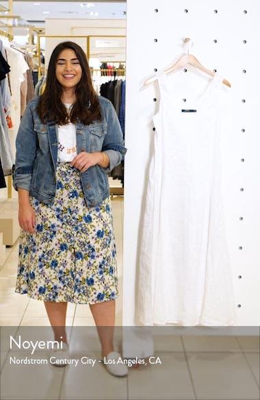Eyelet Linen Maxi Dress, sales video thumbnail
