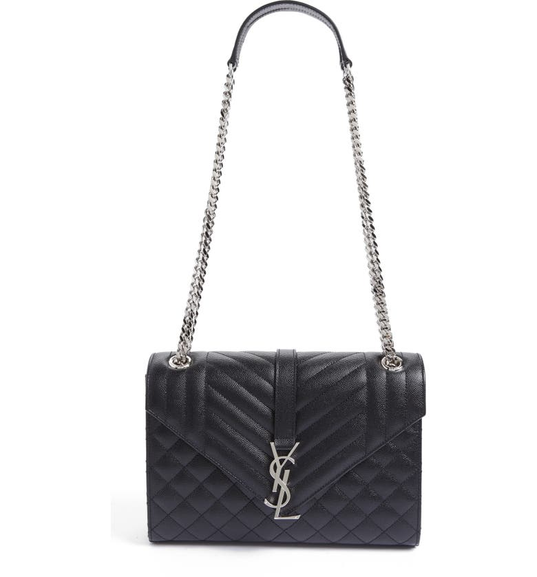 0fcc44cc31 Saint Laurent Large Monogram Quilted Leather Shoulder Bag | Nordstrom