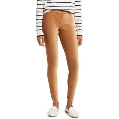 Hue Corduroy Leggings, Brown