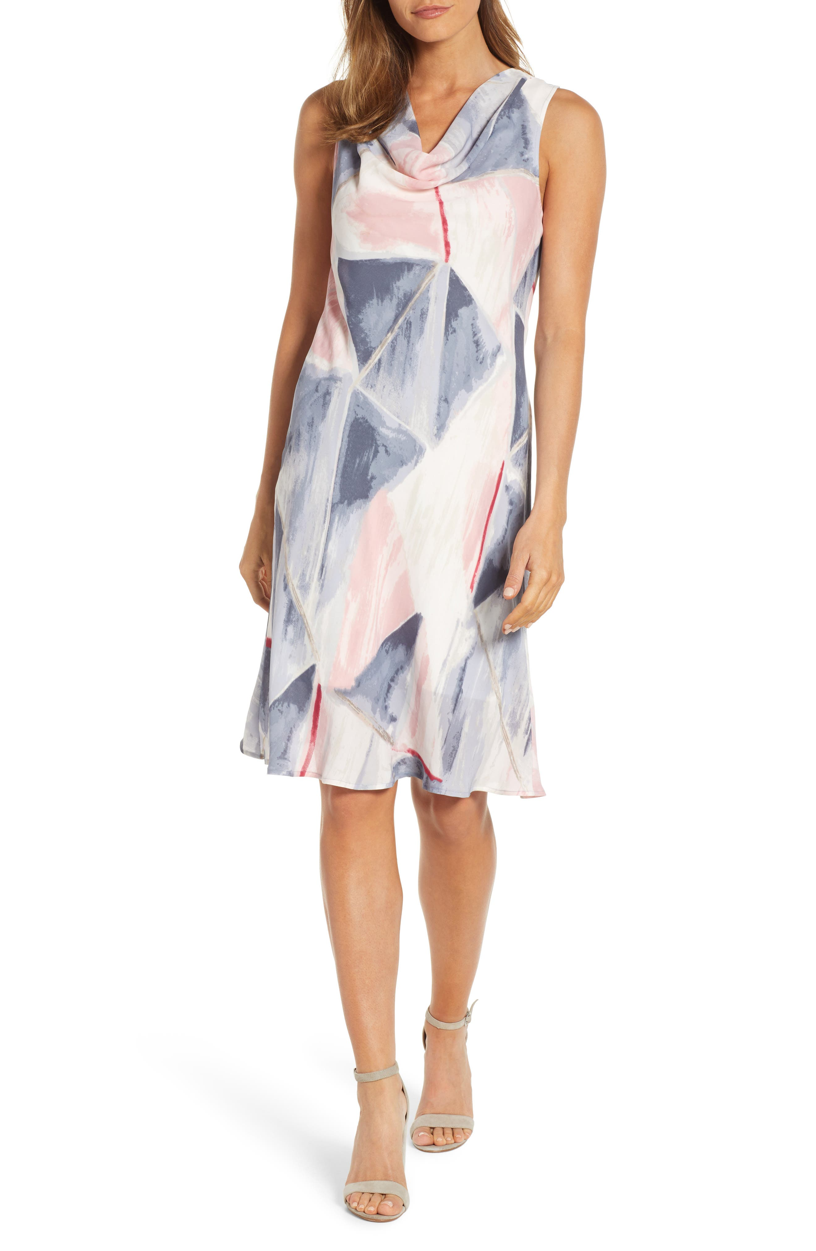 Nic+Zoe Sail Away A-Line Dress, Pink
