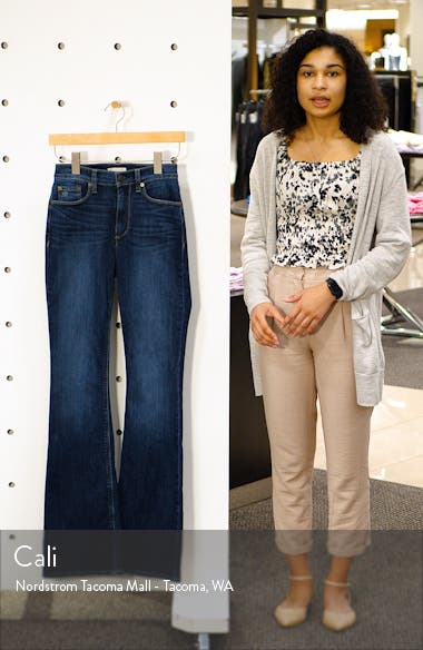 Remi High Waist Flare Jeans, sales video thumbnail