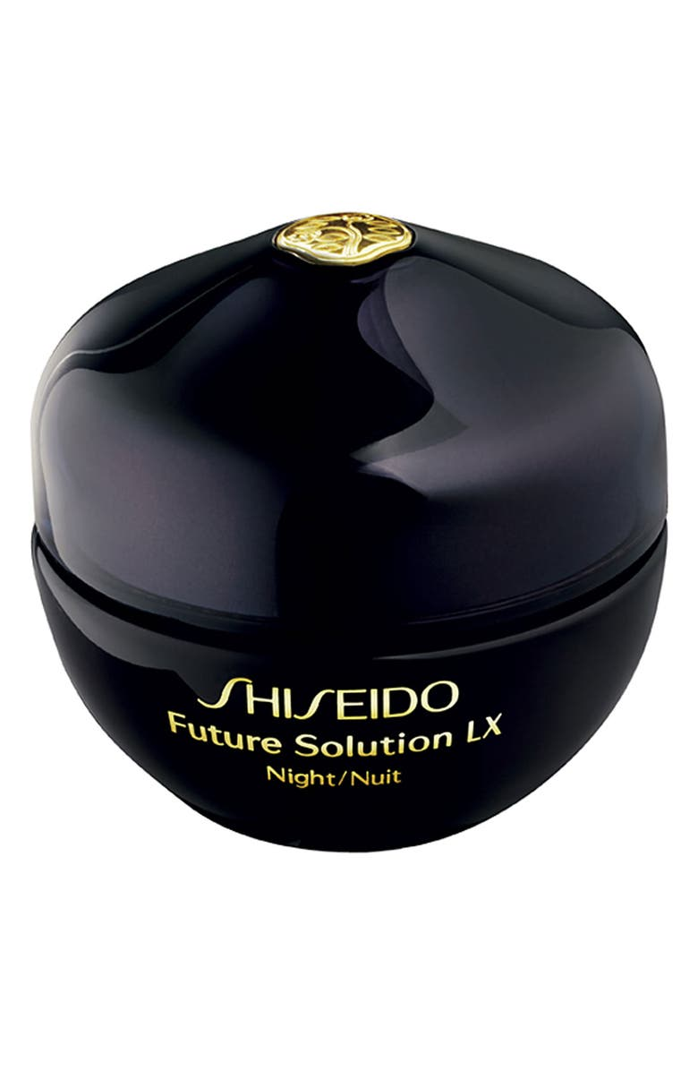 SHISEIDO 'Future Solution LX Night' Regenerating Cream, Main, color, 000