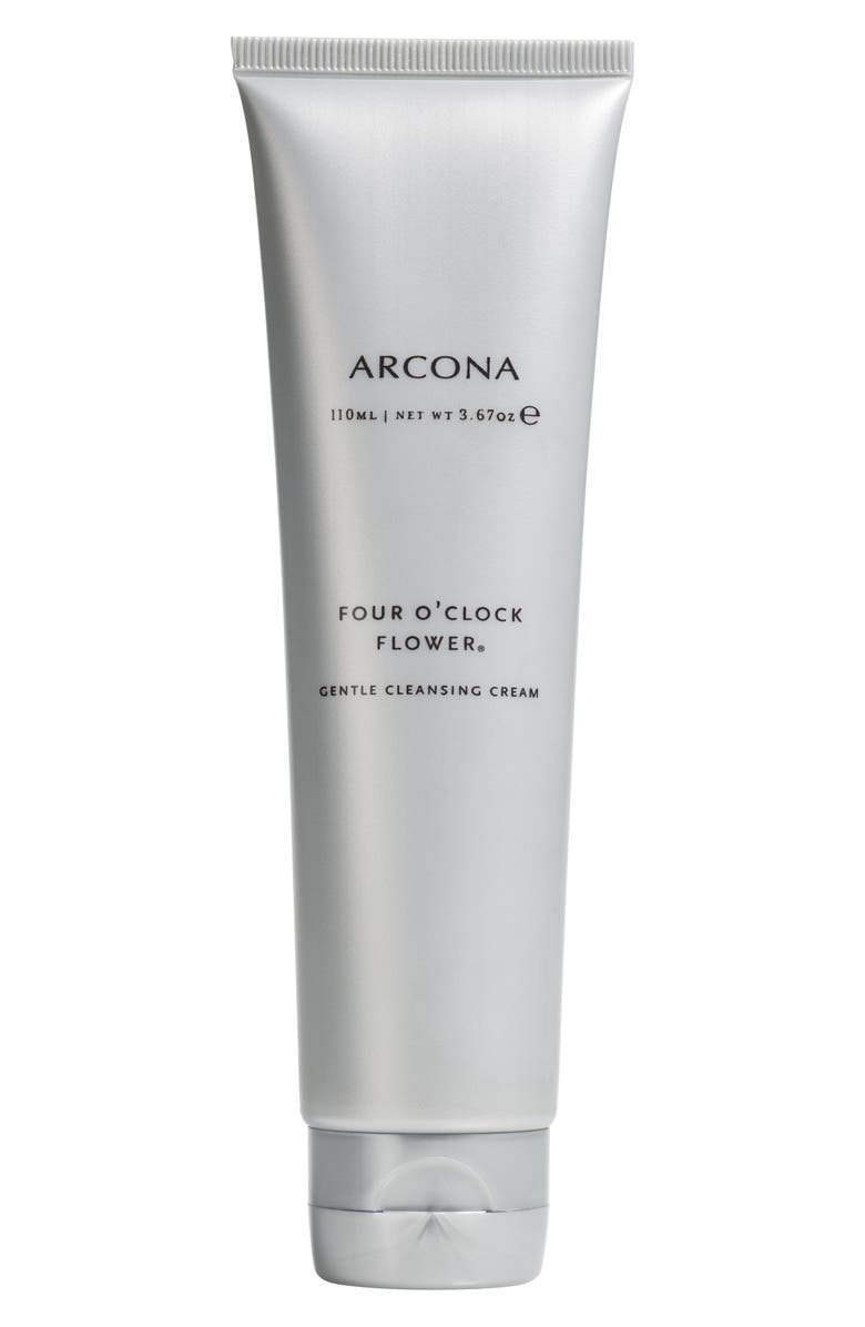 ARCONA Four O'Clock Flower Gentle Cleansing Cream, Main, color, NO COLOR