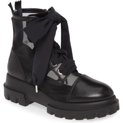 Agl Mesh Combat Boot, Black