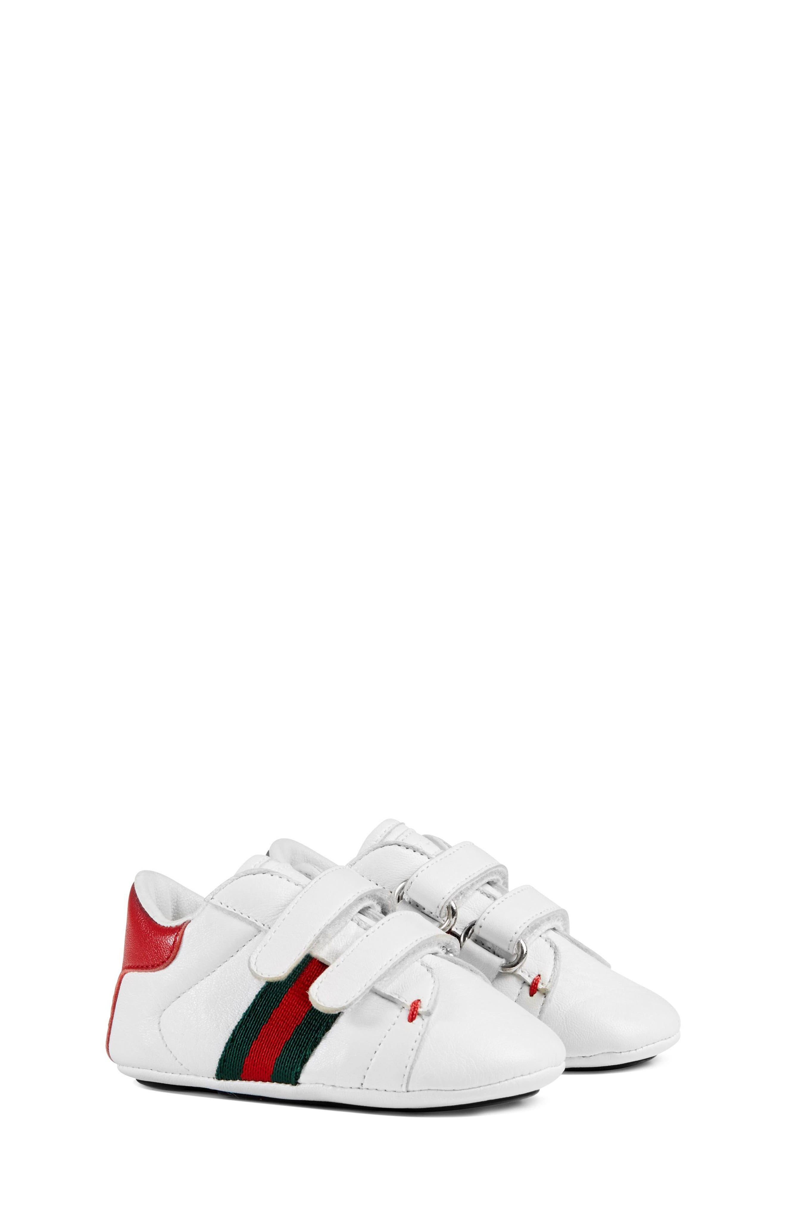 Gucci 'Ace' Crib Shoe (Baby) | Nordstrom