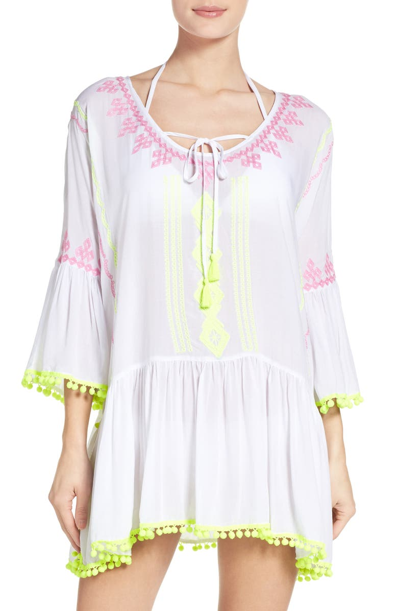 SURF GYPSY Cover-Up Tunic, Main, color, 102