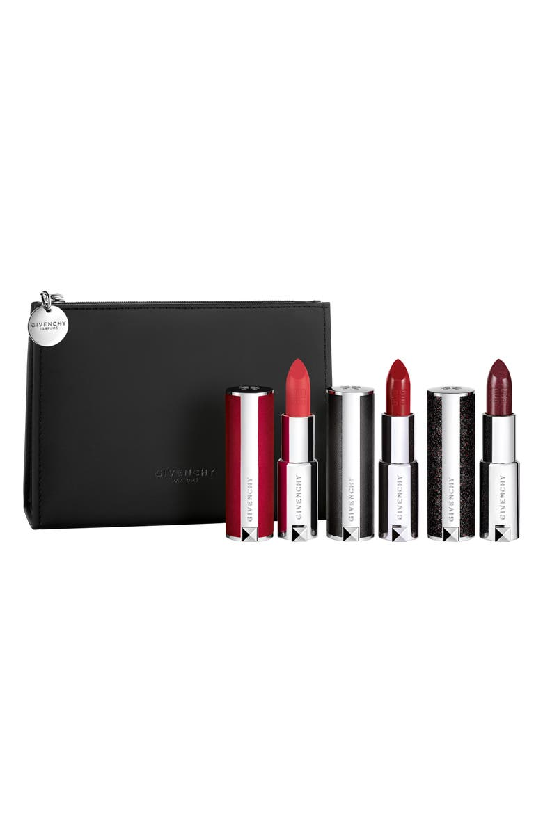 GIVENCHY Full Size Le Rouge Lipstick Set, Main, color, 000