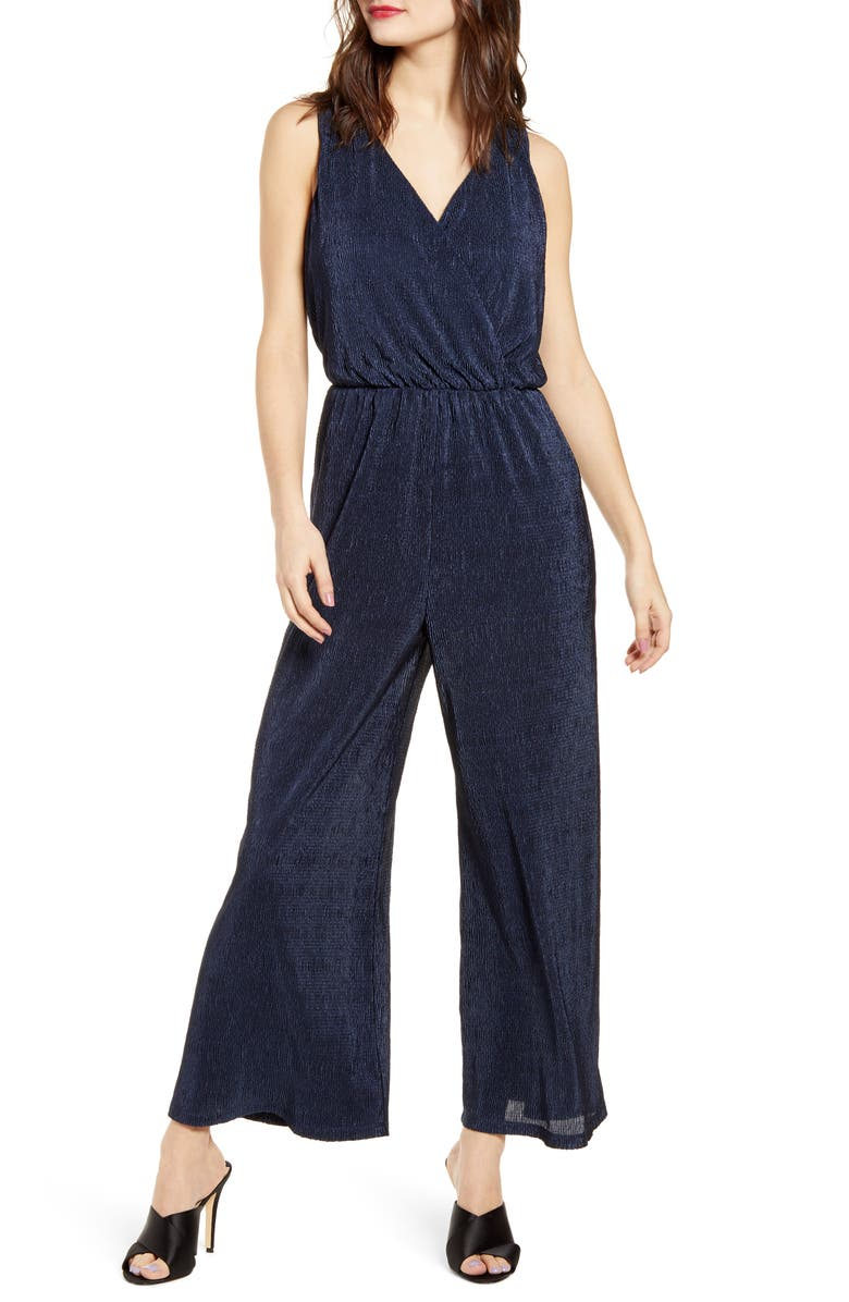 All In Favor Pliss Jumpsuit