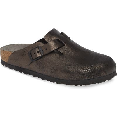 Birkenstock Boston Soft Footbed Clog, Black