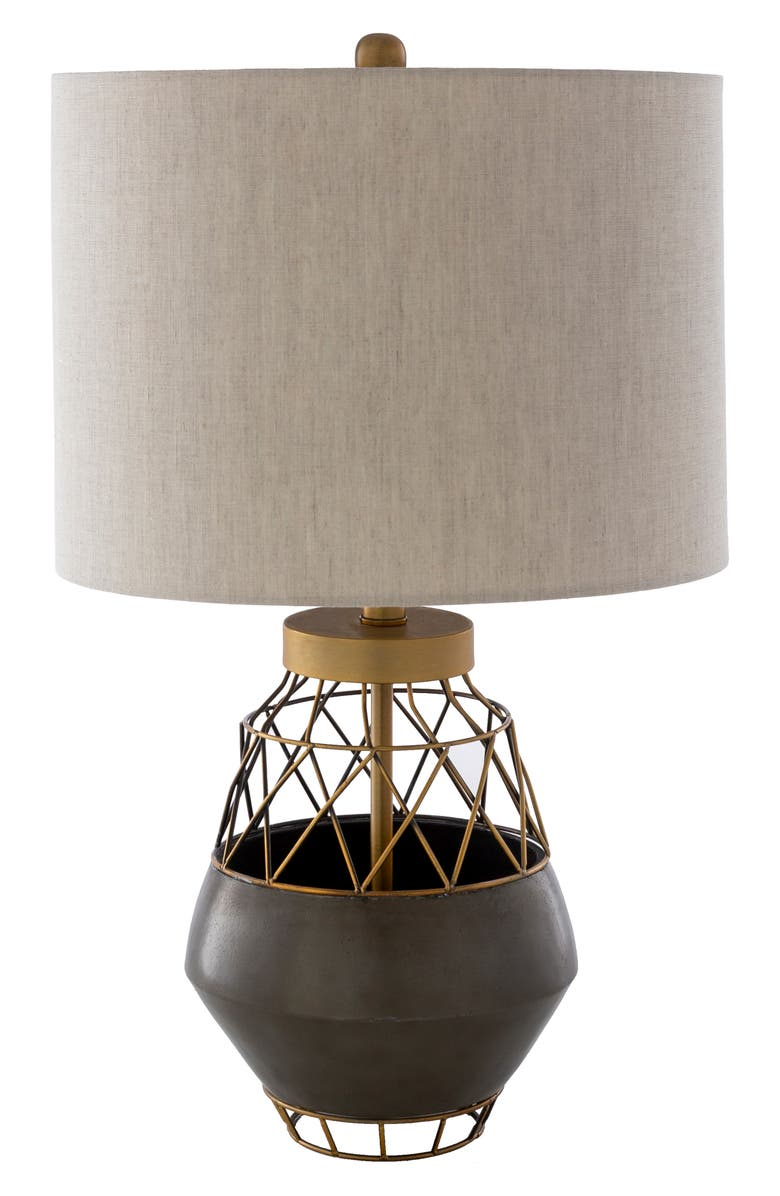 SURYA HOME Iverness Table Lamp, Main, color, BEIGE