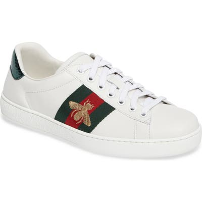 Gucci New Ace Sneaker, US / 16UK - White