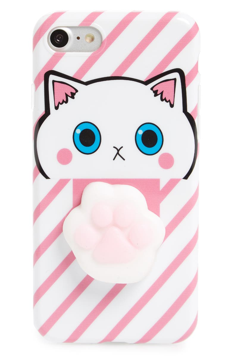 the best attitude fbd84 63d82 Squishy Cat Paw iPhone 6/6s/7 Case