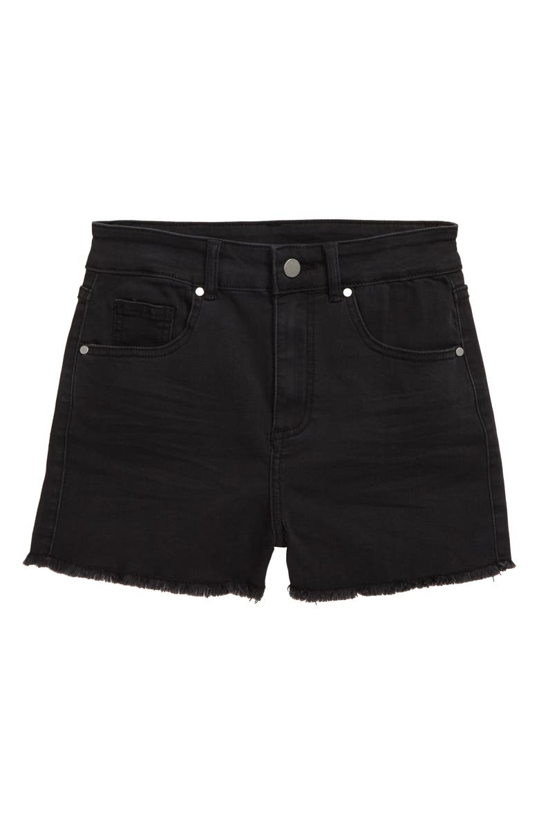 SEED HERITAGE Cutoff Denim Shorts, Main, color, 001