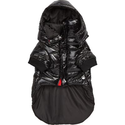 Max-Bone Axl Dog Puffer Coat, Black