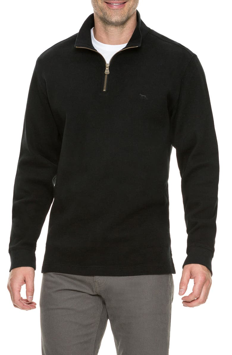 RODD & GUNN Alton Ave Regular Fit Pullover Sweatshirt, Main, color, ONYX
