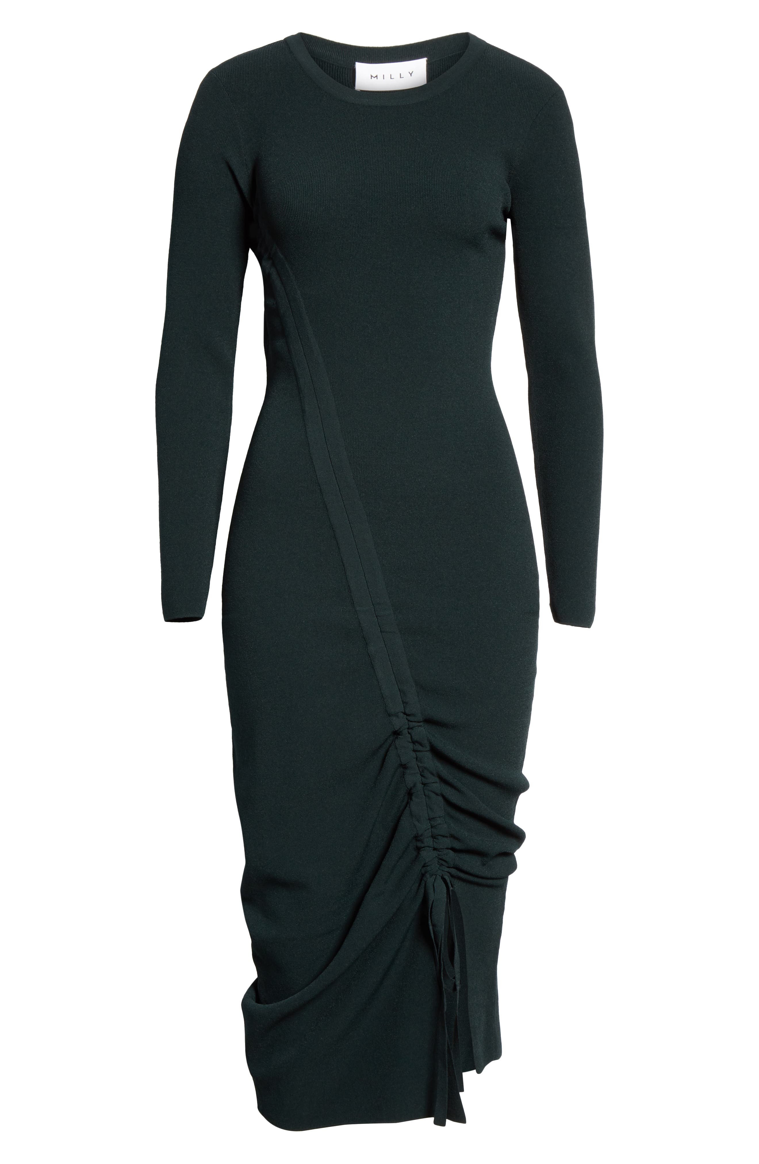 ,                             Diagonal Ruched Tunnel Dress,                             Alternate thumbnail 13, color,                             300
