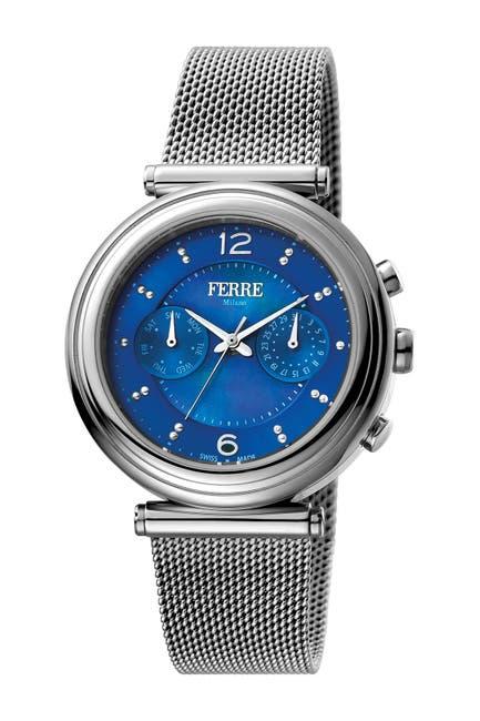 Image of Ferre Milano Women's Stainless Steel Watch, 36mm