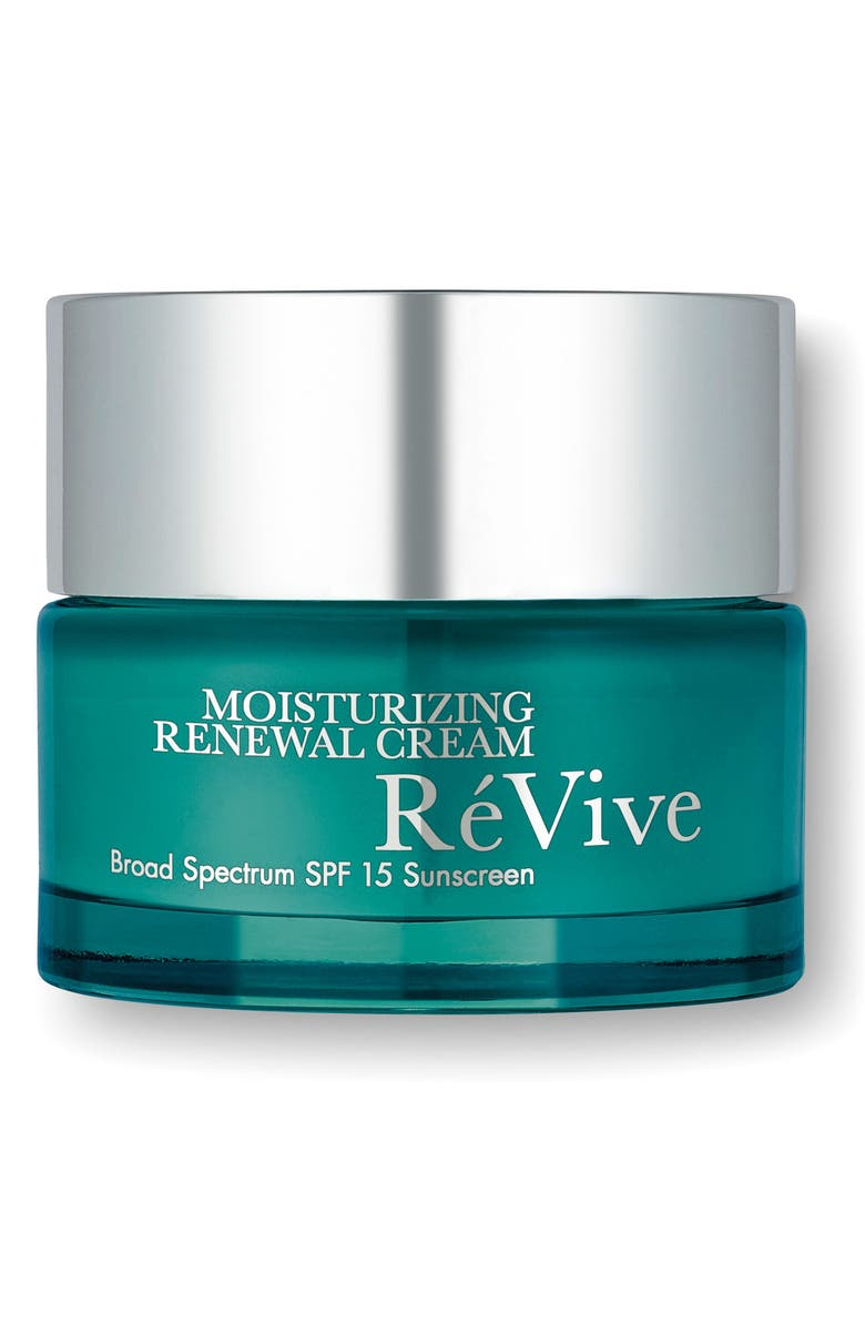 RÉVIVE<SUP>®</SUP> Moisturizing Renewal Cream Broad Spectrum SPF 15 Sunscreen, Main, color, 000