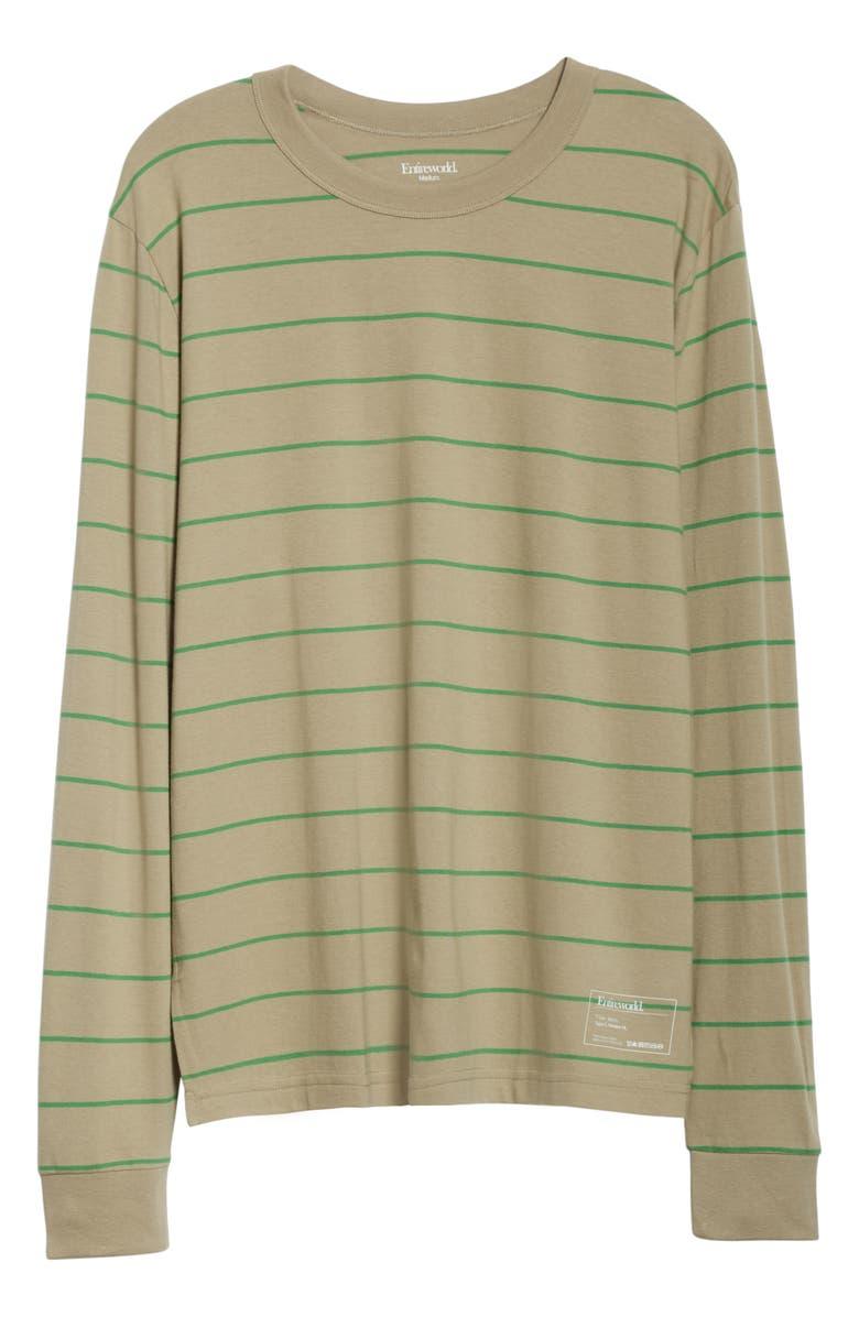 ENTIREWORLD Type C Version 11 Long Sleeve T-Shirt, Main, color, KHAKI GREEN