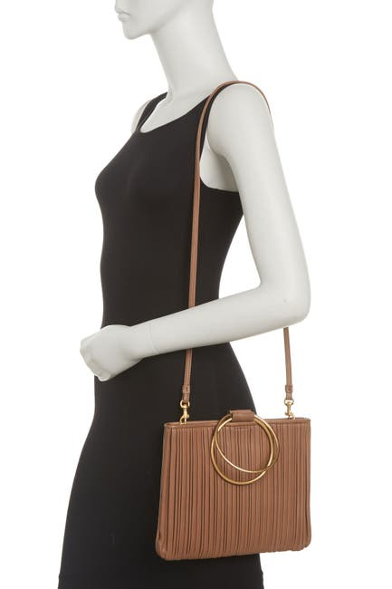 Image of THACKER Le Pouch Pleated Crossbody Bag