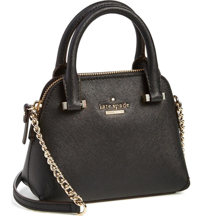 KATE SPADE NEW YORK 'cedar street - mini maise' crossbody bag, Main, color, 001