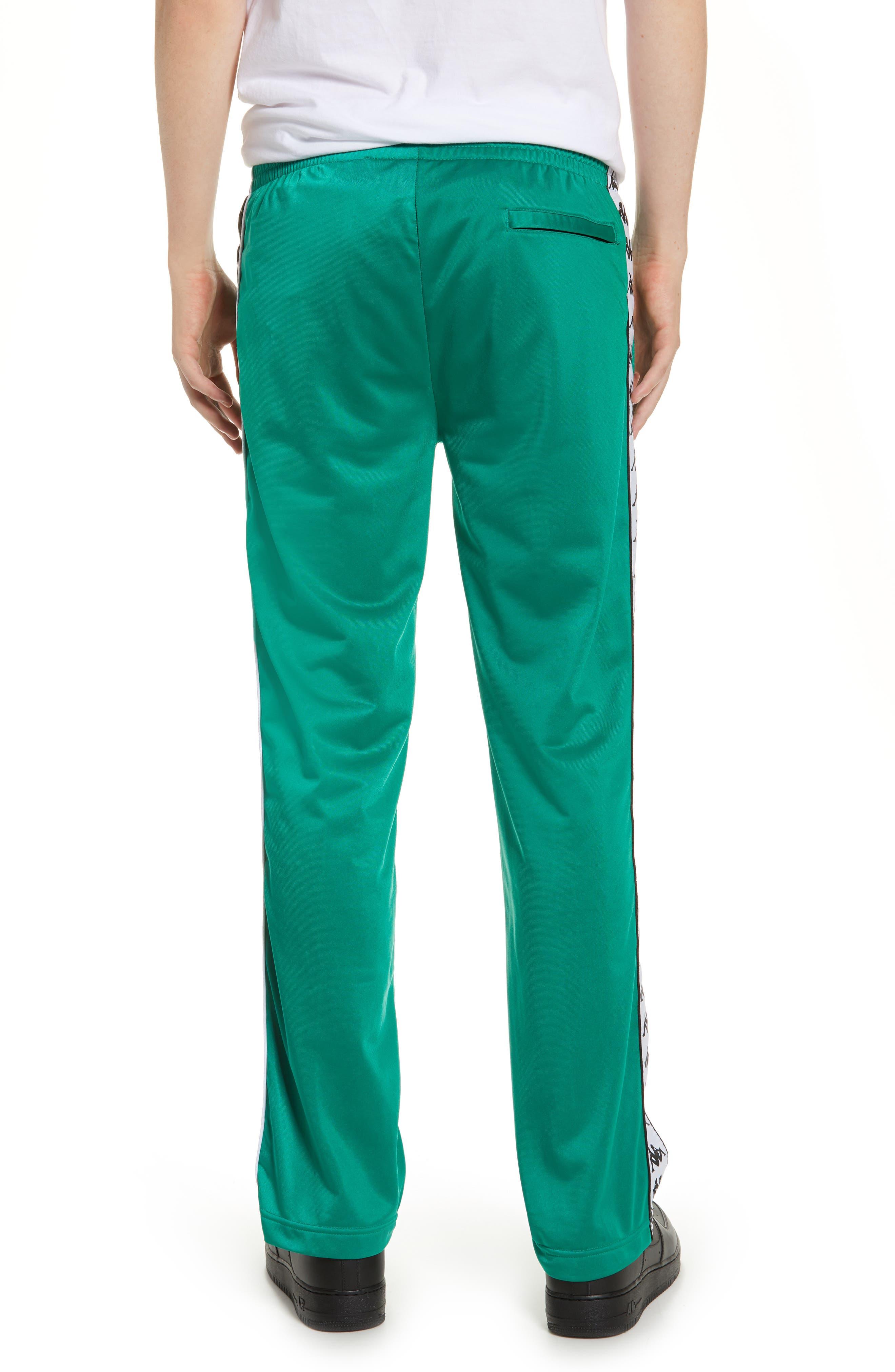 ,                             Active 222 Banda Astoriazz Slim Track Pants,                             Alternate thumbnail 2, color,                             GREEN/ BLACK/ WHITE
