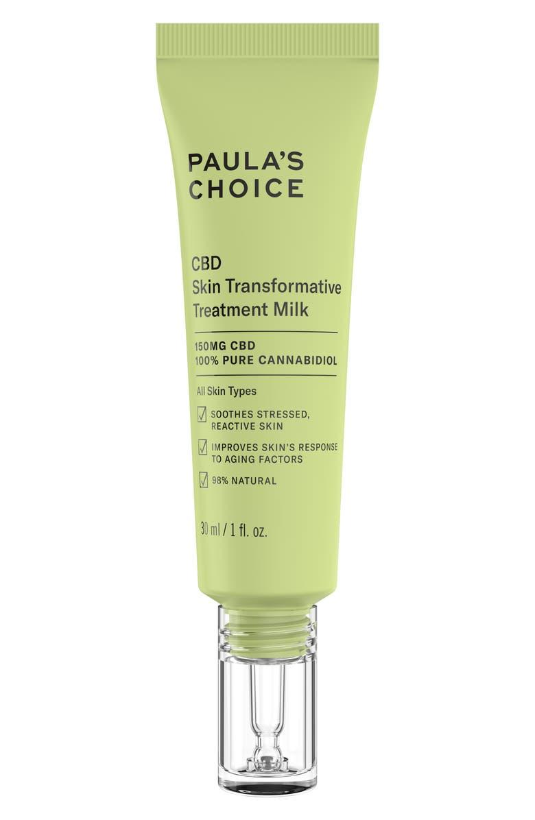 PAULA'S CHOICE CBD Skin Transformative Treatment Milk, Main, color, NO COLOR