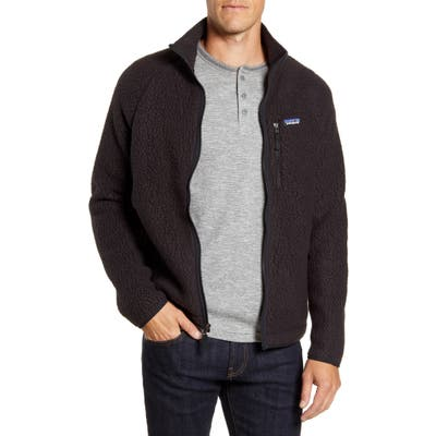 Patagonia Retro Pile Fleece Jacket, Black