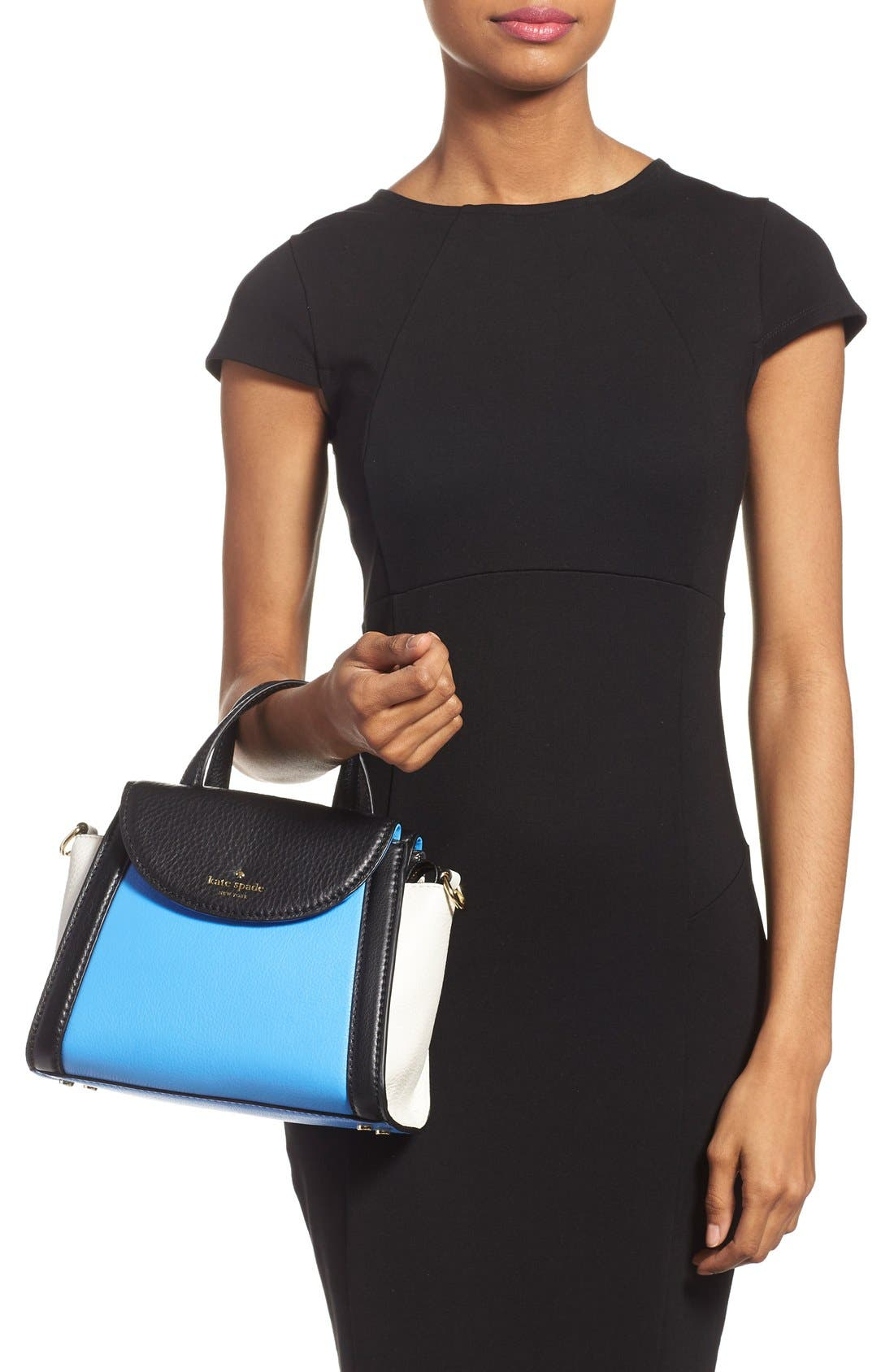 ,                             'cobble hill - small adrien' leather satchel,                             Alternate thumbnail 16, color,                             400