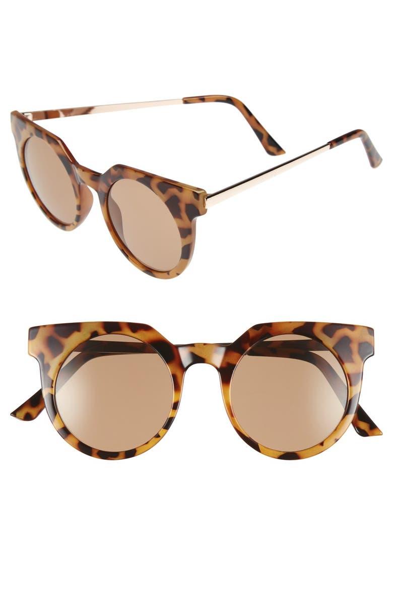 BP. 45mm Round Lens Sunglasses, Main, color, 210