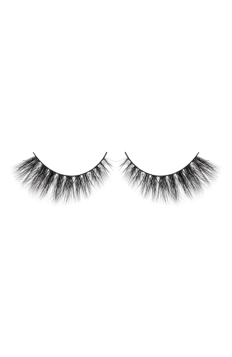 LILLY LASHES Doha 3D Mink False Lashes, Main, color, 000