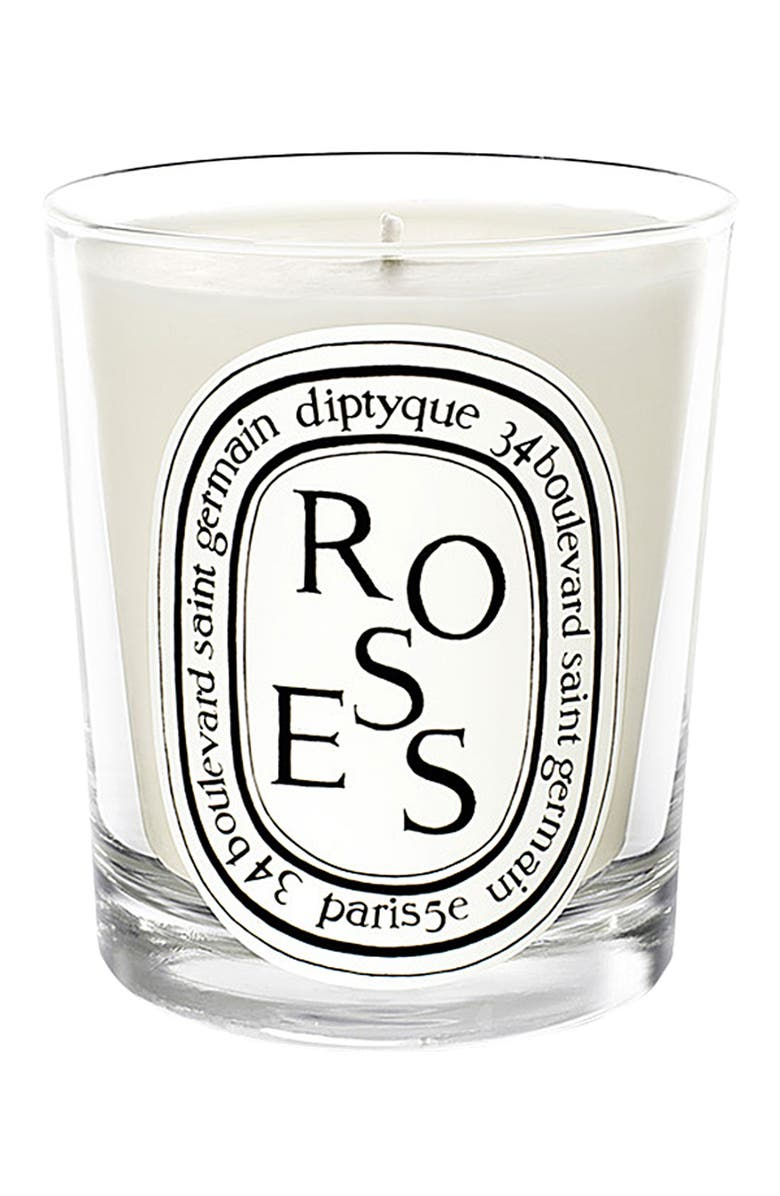 DIPTYQUE Roses Candle, Main, color, NO COLOR
