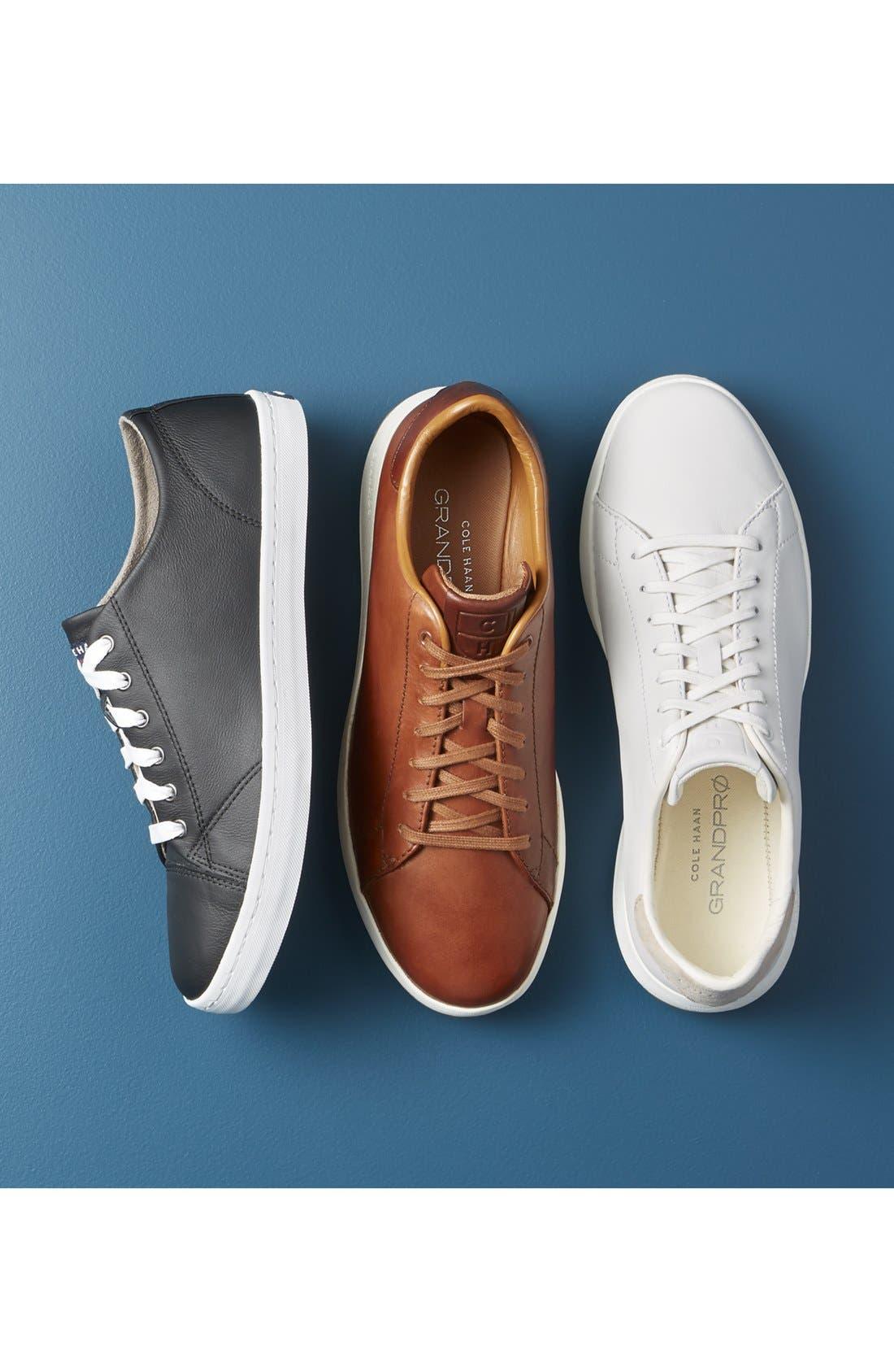 ,                             GrandPro Tennis Sneaker,                             Alternate thumbnail 7, color,                             BLACK/ BRITISH TAN