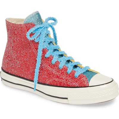 Converse X Jw Anderson Chuck Taylor All Star 70 High Top Sneaker, Red