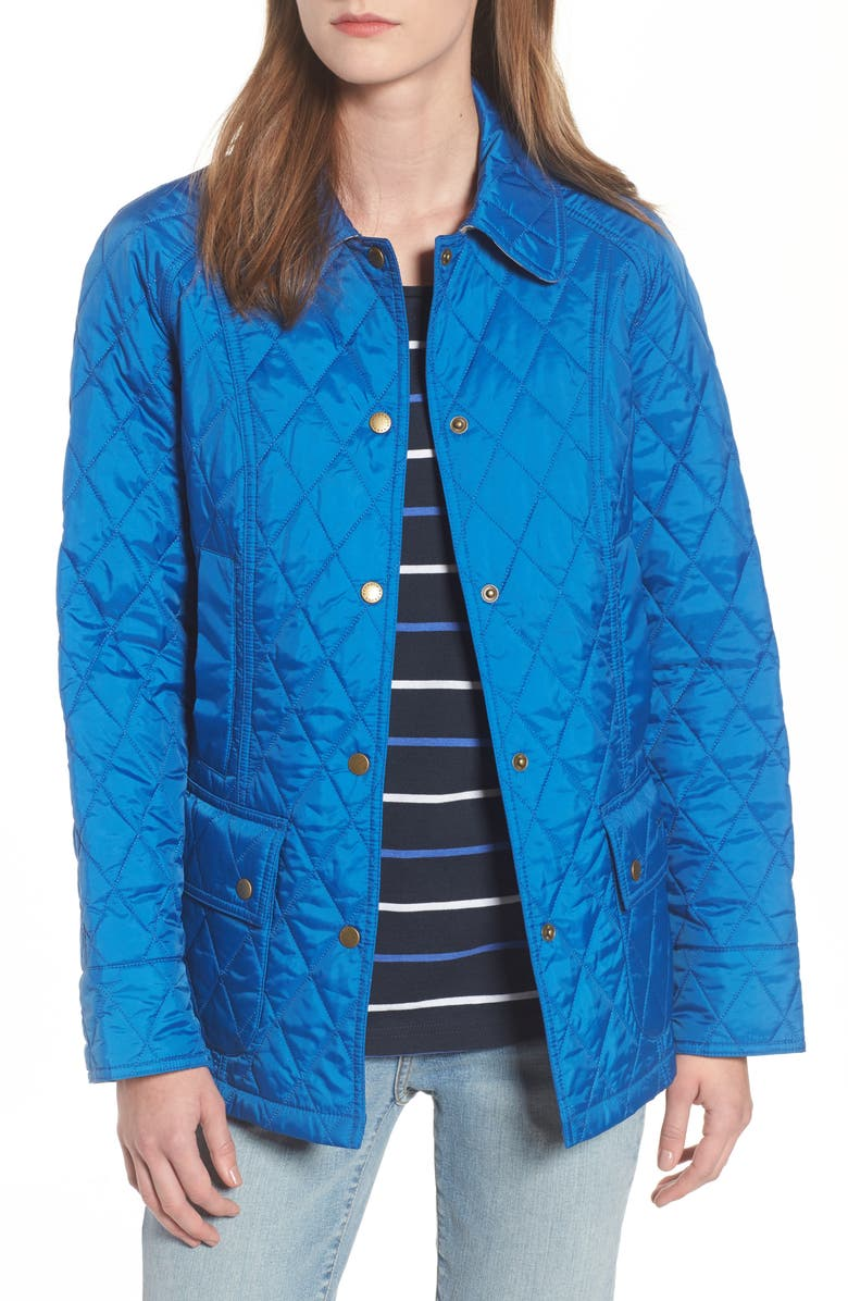 dddade4f5 'Beadnell - Summer' Quilted Jacket