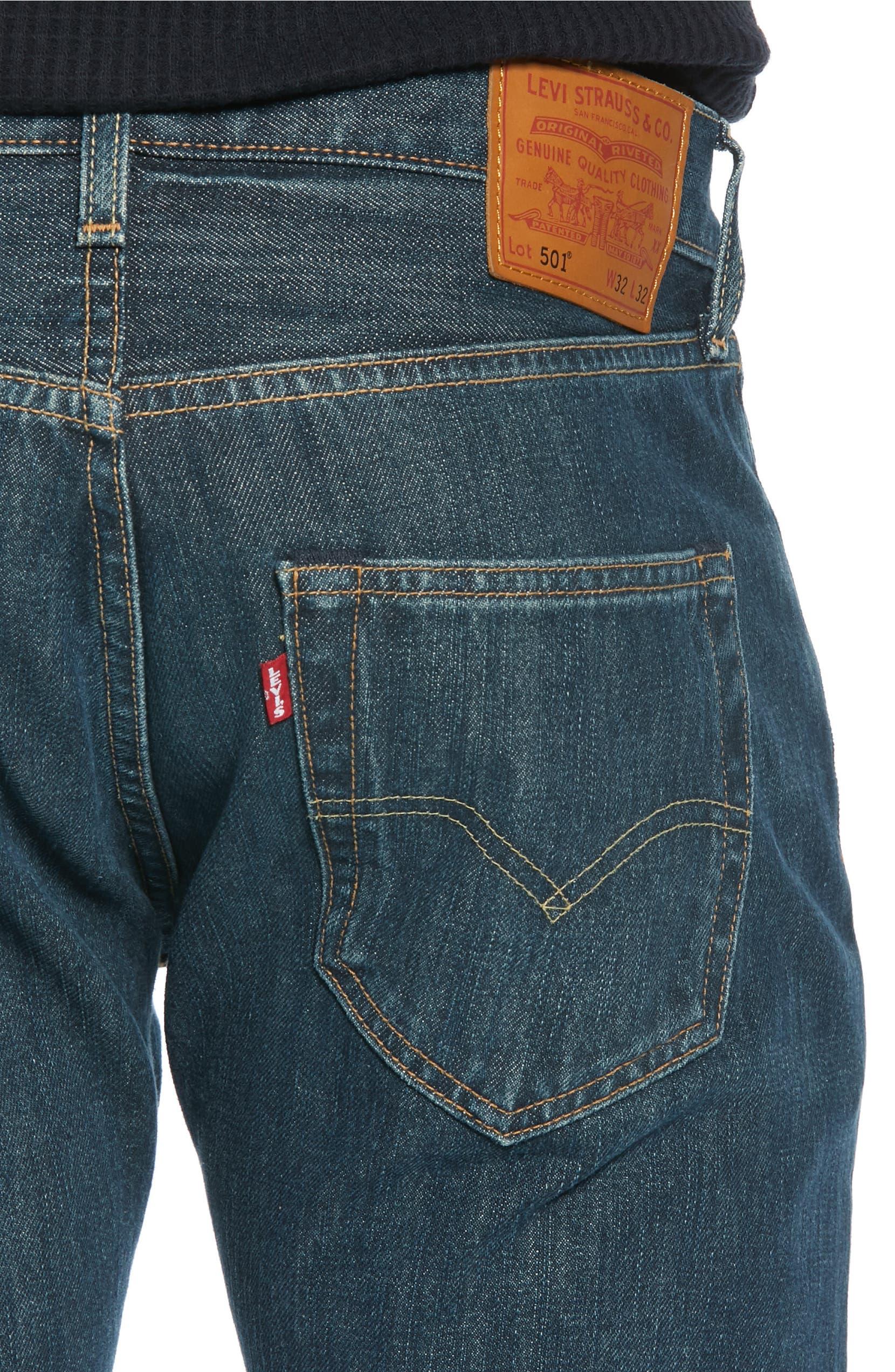 4b78e0e9 Levi's® 501® Straight Leg Jeans (Snoot)   Nordstrom