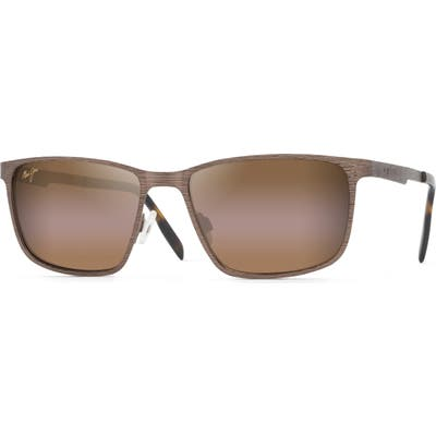 Maui Jim Cut Mountain 55mm Polarized Sunglasses - Bronze