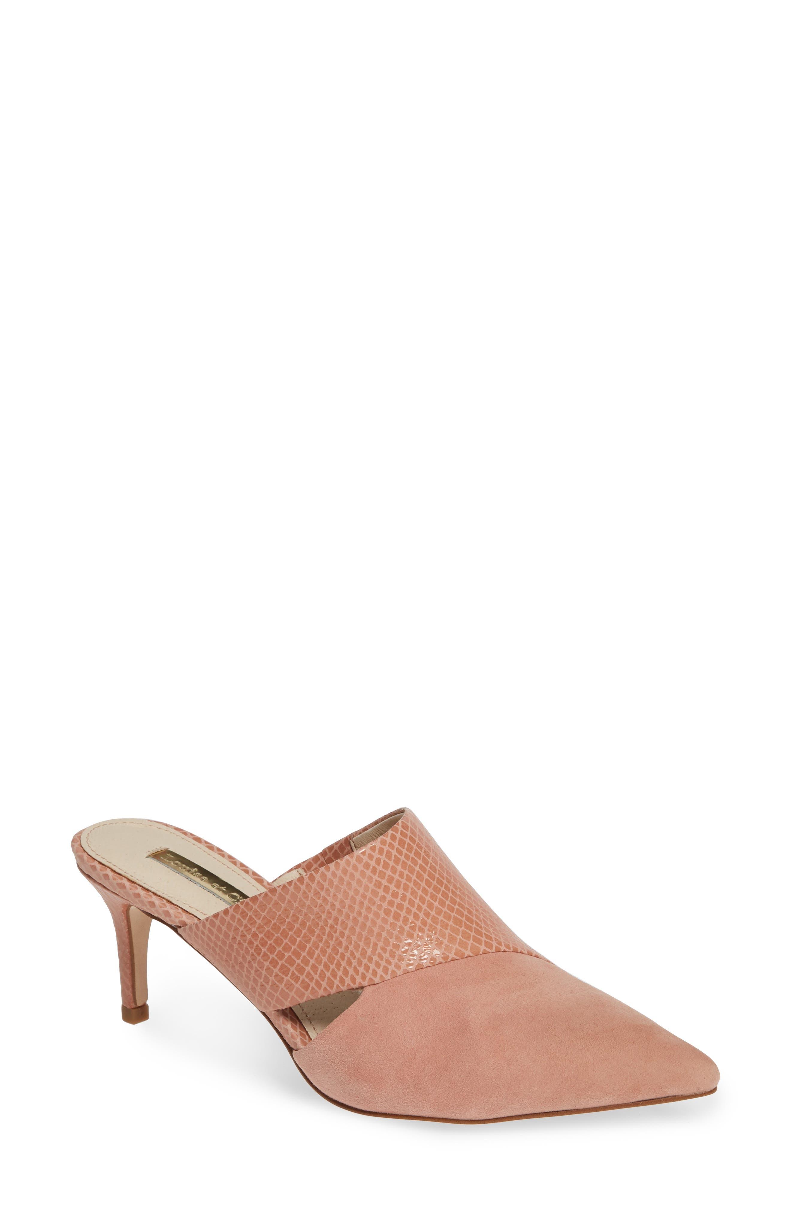Louise Et Cie Jelisa Pointy Toe Mule, Pink