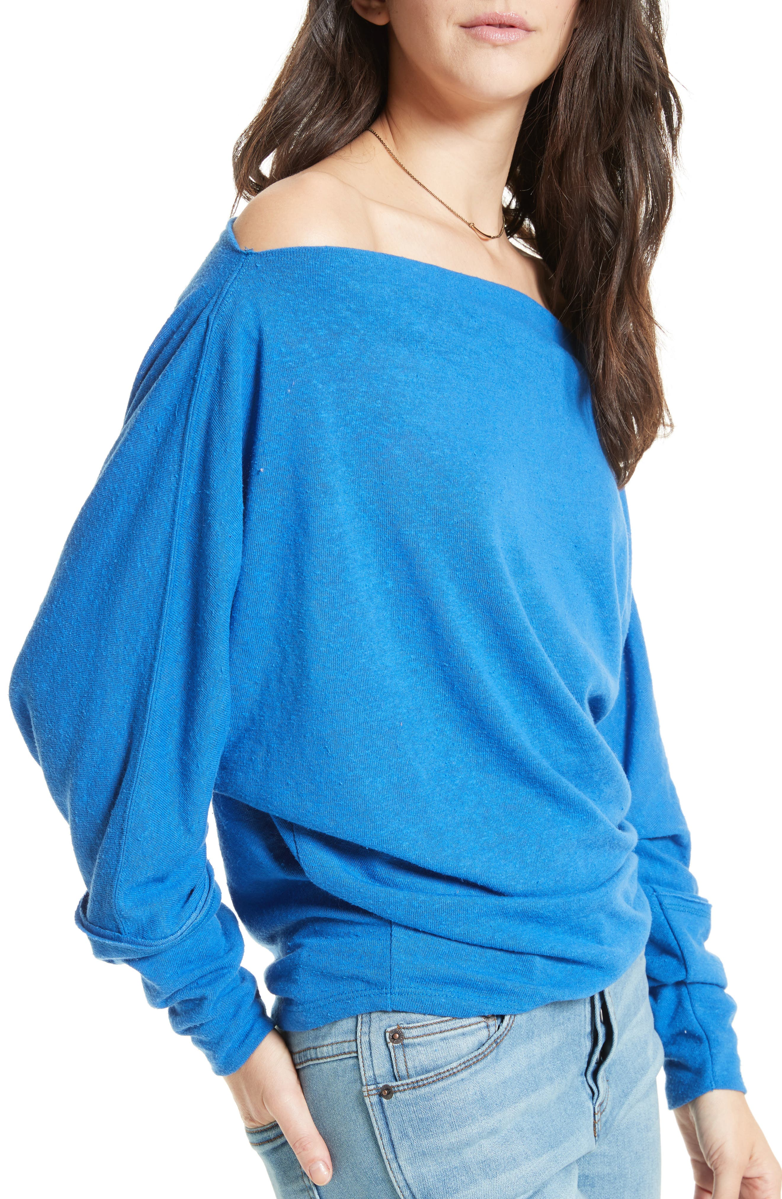 ,                             Valencia Off the Shoulder Pullover,                             Alternate thumbnail 33, color,                             400