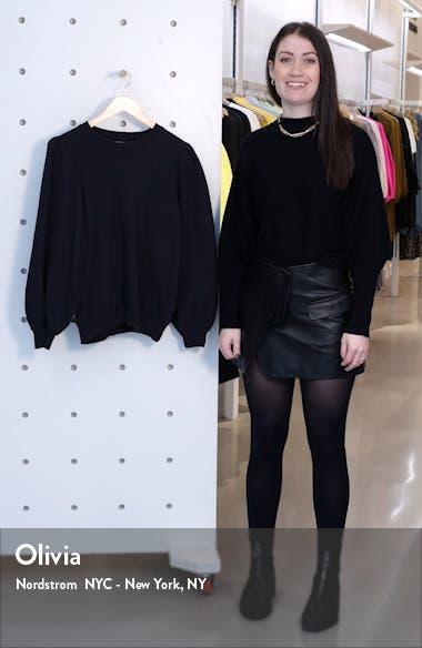 The Pleat Sleeve Sweatshirt, sales video thumbnail
