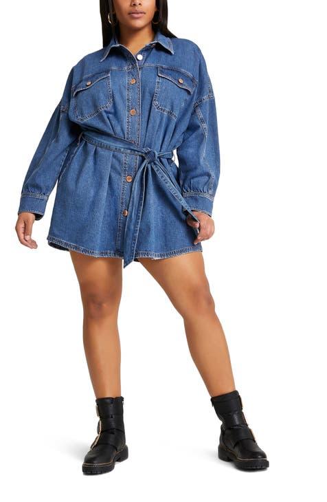 denim shirtdress | Nordstrom