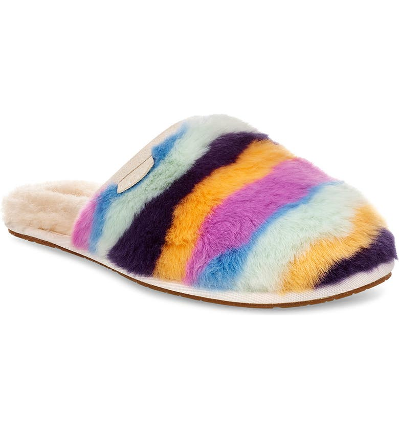 UGG<SUP>®</SUP> Fluffette Mural Slipper, Main, color, 400