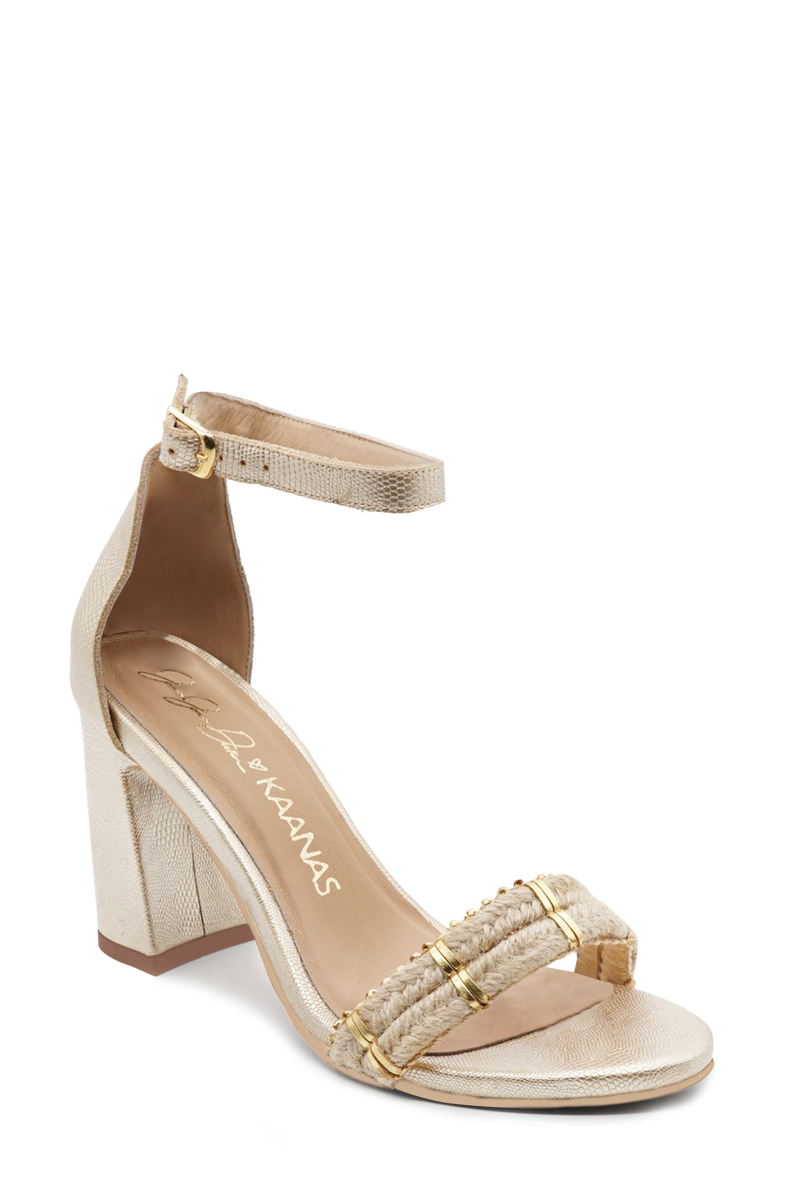 X Jessie James Decker Luzon Ankle Strap Sandal