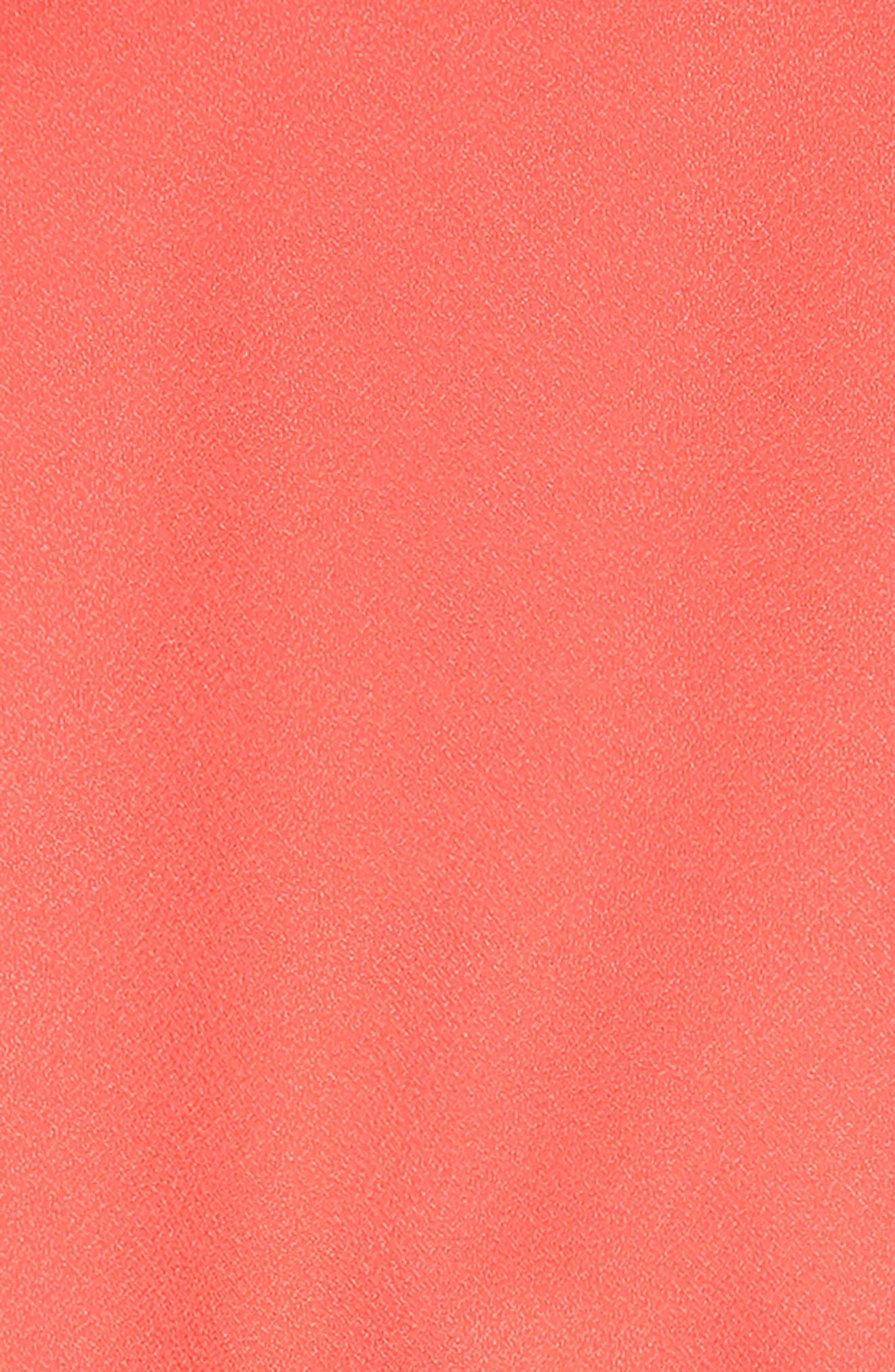 ,                             Cold Shoulder Crepe Dress,                             Alternate thumbnail 3, color,                             950